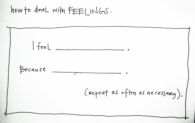 dealing with feelings essay